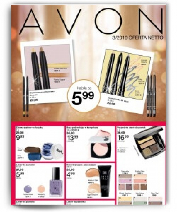 avon netto 3 2019 online oferta netto 3 avon na dzie. Black Bedroom Furniture Sets. Home Design Ideas